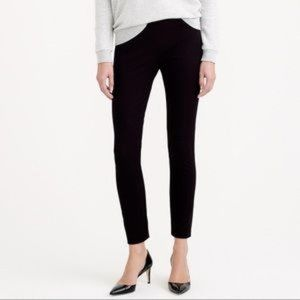 J Crew Black Minnie Fit Cropped Trousers